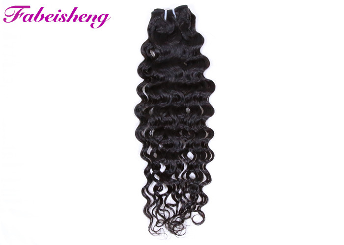No Synthetic Virgin Malaysian Hair 8A Italian Wave Curly Bundles